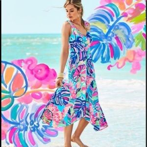 Lilly Pulitzer Dresses - Lilly Pulitzer Sloane Dress, Exotic Garden, NWT